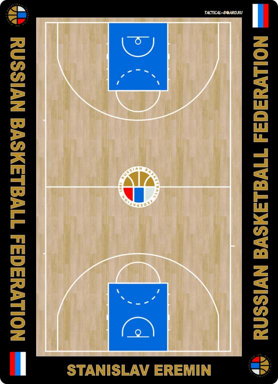 баскетбольная тактическая доска для рфб