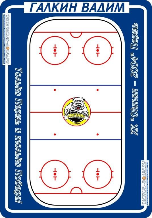хоккейная тактическая доска